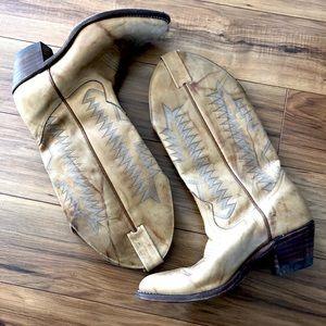 Women's Boulet Cowboy Boots Size 7
